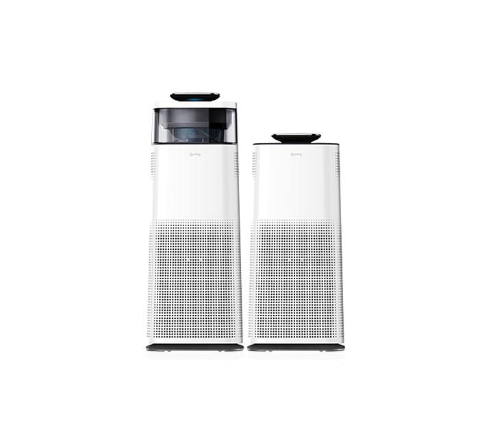 [G] 현대큐밍 공기청정기 더 케어 HA-831W,HA-832W(세트) / 월35,900원
