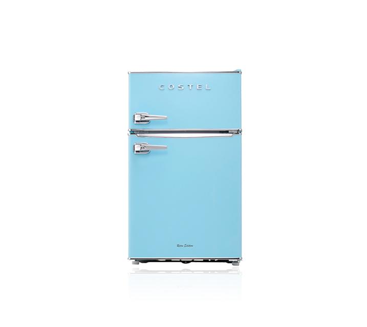 [L] 코스텔 냉장고 86L 스카이블루 CRS-86GABU  / 월25,900원