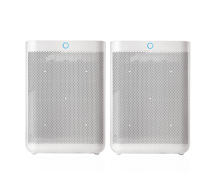 [G] 현대큐밍 더케어 큐브 공기청정기 세트 HQ-A19100W + HQ-A19100W SET / 월28,900원