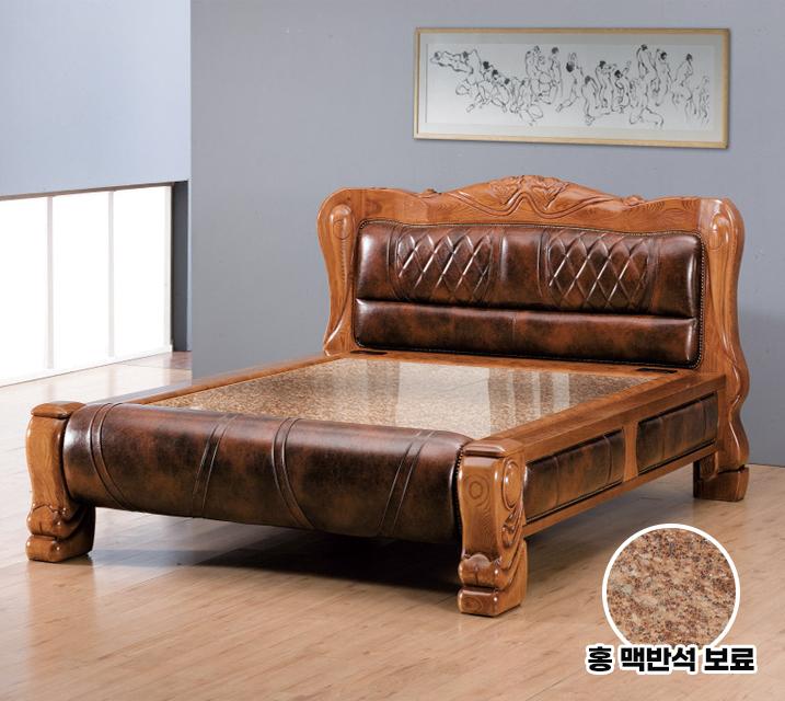 미르 Q 돌 흙침대 (온수형 홍백반석보료) / 월87,800원