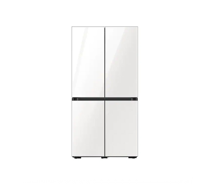 [L] 삼성 냉장고 4도어 비스포크 양문형 871L 글램화이트 RF85T901335 / 월 58,700원