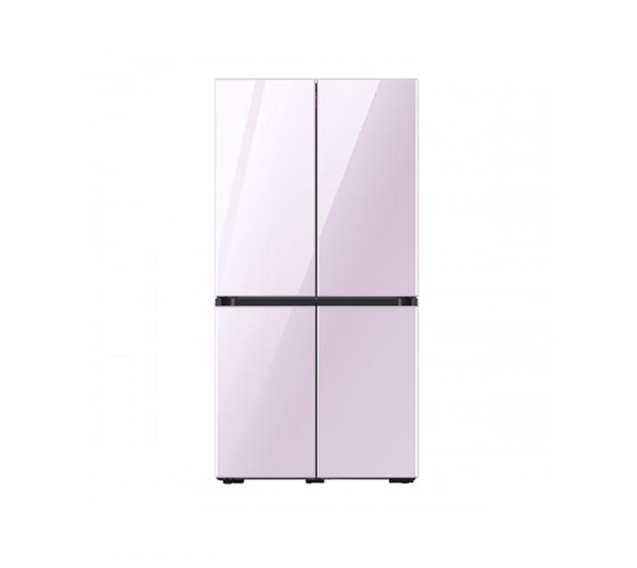 [L] 삼성 냉장고 4도어 비스포크 양문형 871L 글램라벤더 RF85T901338 / 월 58,700원