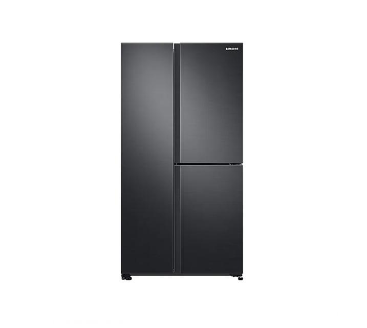 [L] 삼성 냉장고 세미 빌트인 양문형 냉장고 인버터 635L 리얼메탈 RS63R557EB4 / 월 45,900원