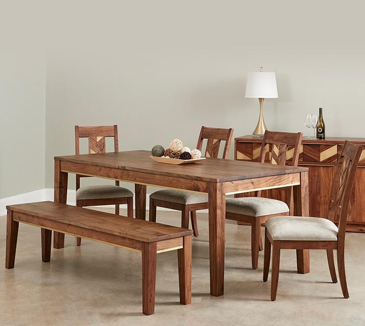 IPAT 파트로니아 컬렉션 6인 엔틱 식탁 세트 [테이블+벤치+의자 4개] / 월 113,800원
