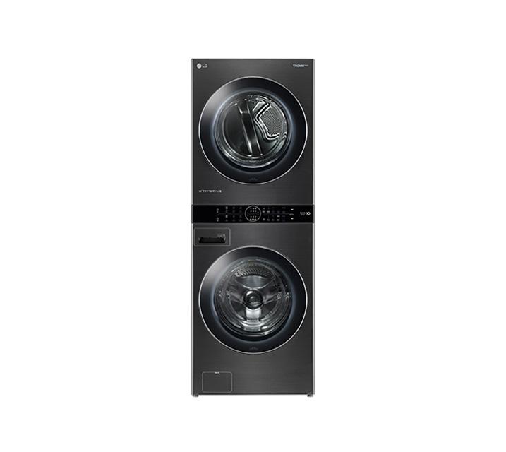 [L] LG 워시타워 세탁기(21kg)+건조기(16kg) 블랙 W16KT / 월109,000원