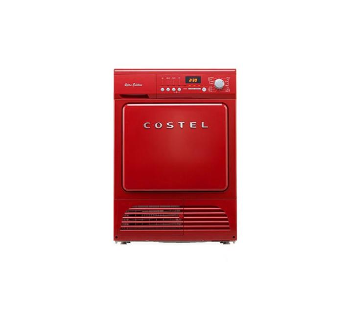 [S] 코스텔 레트로 에디션 의류건조기 레드 8kg CRC-080GNRD / 월 20,500 원