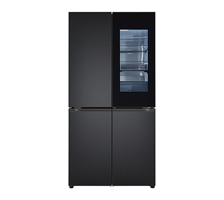 [S] LG 오브제컬렉션 노크온 매직스페이스 냉장고 870L 맨해튼 미드나잇 M870SMM451 / 월 129,000원