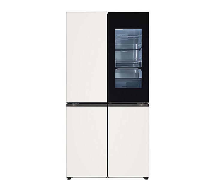 [S] LG 오브제컬렉션 노크온 매직스페이스 냉장고 870L 베이지베이지 M870GBB451 / 월 120,000원