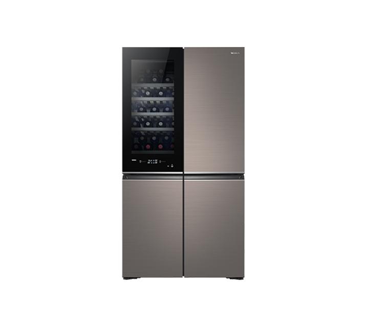 [S] 위니아 보르도냉장고 와인1룸 854L 4도어 노블브라운 WWRV908EFGNB1_AT / 월131,000원